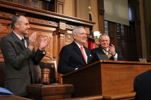 2013 State of the State Address(Photo Courtesy Alana Joyner, Office of the Governor)