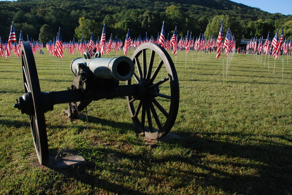 Remembering America's 911 Fallen Heroes Kennesaw Mountain National Battlefield Park / September 2011