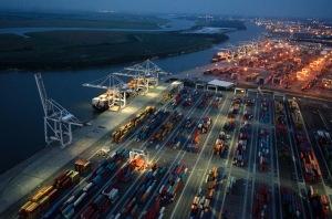 Georgia Ports Authority Facilities in Savannah