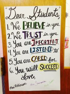 Image from Tapestry Public Charter School Facebook page