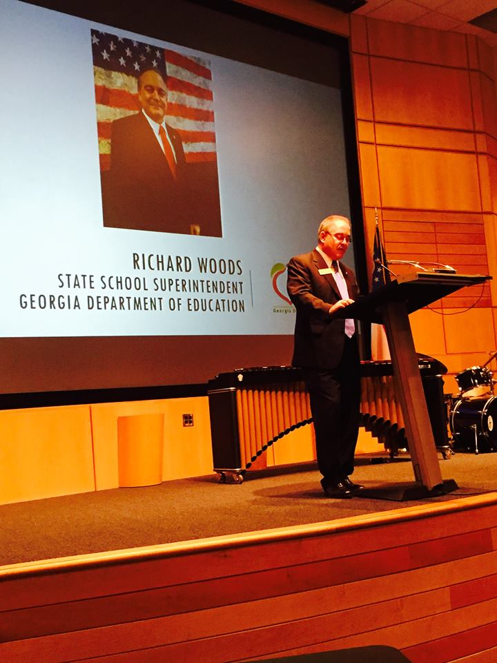 RICHARD WOODS Georgia State Schools Superintendent (Georgia Charter Schools Association Photo)