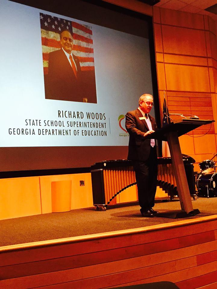 RICHARD WOODS Georgia State Schools Superintendent (Georgia Charter Schools Association Photo)